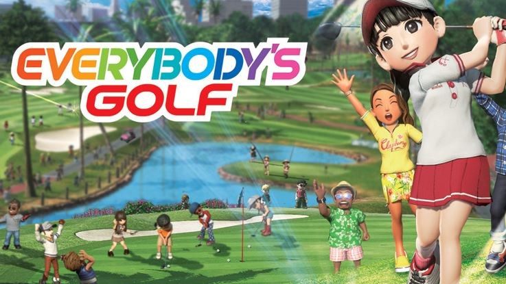 Everybodys golf spel playstation